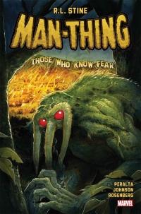 R.L. Stine escribe una miniserie de comics de Man-Thing